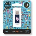 PENDRIVE 16GB TECH ONE TECH UNICORNIO DREAM USB 2.0 TEC4012