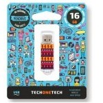 PENDRIVE 16GB TECH ONE TECH TRIBAL QUESTIONS USB 2.0 TEC401