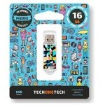 PENDRIVE 16GB TECH ONE TECH KALEYDOS USB 2.0 TEC4014-16