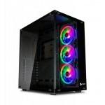 CAJA ATX TALIUS CRONOS RGB CRISTAL TEMPLADO USB 3