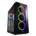CAJA ATX SHARKOON TG5 SILENT PCGH RGB