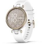 Smartwatch Garmin Lily Sport/ Notificaciones/ Frecuencia Cardíaca/ GPS/ Oro Crema y Blanco