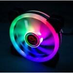 VENTILADOR AUXILIAR RGB RETAIL IRIS SPECTRUM 12CMS