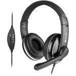 Auriculares ngs diadema con microfono vox800usb