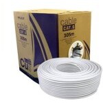 CABLE RED UTP CAT6 RJ45 PHASAK 305M GRIS AWG24/SOLIDO PHR 6