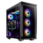 XPG Torre Gaming BATTLECRUISER ARGB Black