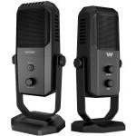 Woxter Mic Studio 100 PRO Micrófono Condensador Profesional Negro