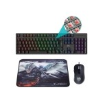 Hiditec Combo Gaming GK400 Tecl+Rat+Alfombrilla