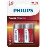 PILAS PHILIPS ALCALINA C-LR14 1.5V PACK 2