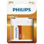PILAS PHILIPS LONG LIFE 3R12 1.5V (PETACA)
