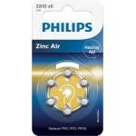 PILAS PHILIPS AUDIFONOS ZINC AIRE ZA10 PACK 6