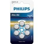 PILAS PHILIPS AUDIFONOS ZINC AIRE ZA675-PR44 PACK6