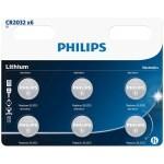 PILAS PHILIPS LITIO CR2032 3V PACK 3
