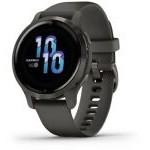 Smartwatch Garmin Venu 2S Notificaciones/ Frecuencia Cardíaca/ GPS/ Negro y Gris Pizarra