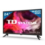 """TV TD SYSTEMS K24DLG12HS 24"""" HD SMART ANDROIDTV WIFI USB HDMI"""