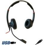 AURICULARICULAR FREEMATE DH037B-USB BIAURAL USB