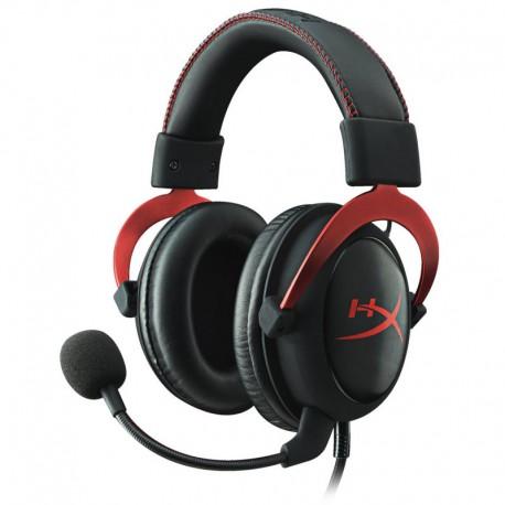 Kingston HyperX Cloud II Auriculares Gaming Rojo