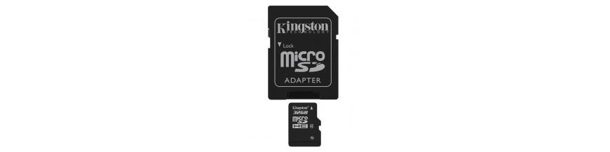 Tarjetas Memoria MicroSD / SD / CF